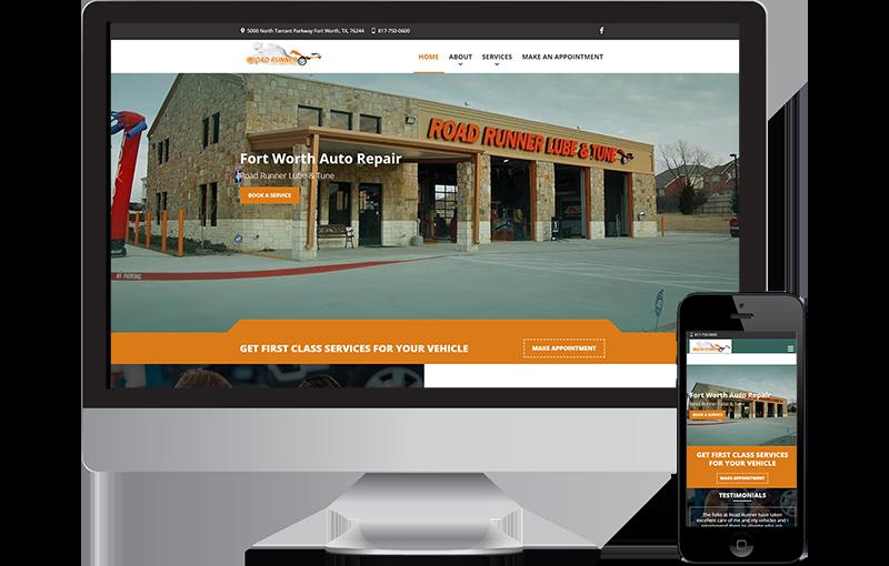 road-auto-shop-website-design